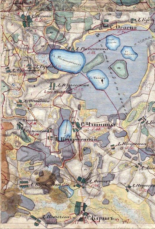 уникальная старинная карта
